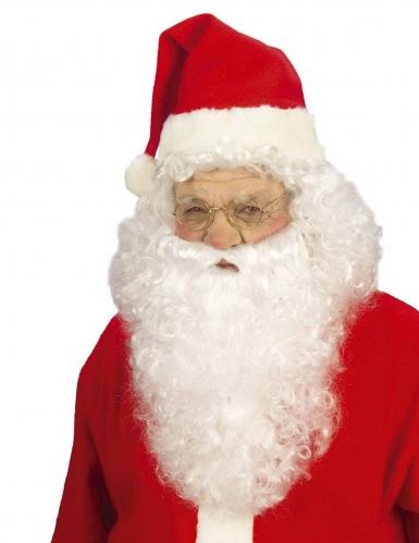 Weihnachtsmann-Perücke mit Bart für Erwachsene