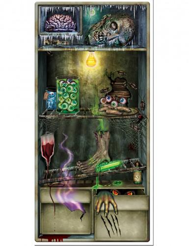 Halloween Kühlschrank-Türdeko
