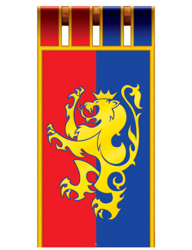 Mittelalterliche Ritter-Hängedeko 1,8 m lang-1