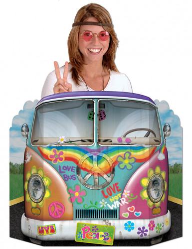 Hippie-Bus Pappaufsteller Fotowand