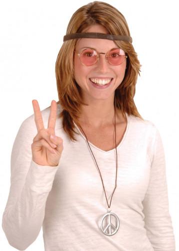 Hippie-Set für Erwachsene mit 3 Accessoires