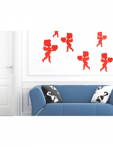 Rote Amor Motiv Dekoration-1