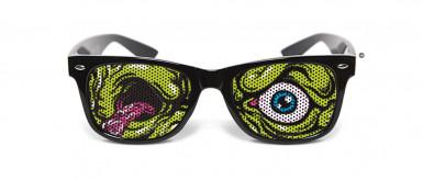 Ausgefallene Zombie-Boolox-Sonnenbrille