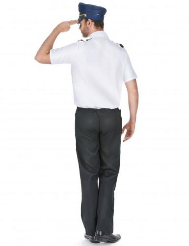 Flugzeug-Piloten-Kostüm für Herren-2