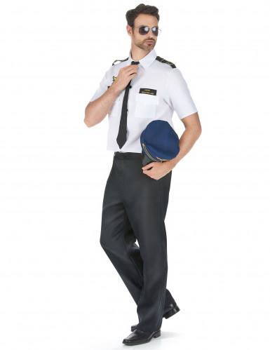 Flugzeug-Piloten-Kostüm für Herren-1