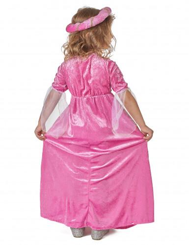 Mittelalterliches Prinzessinnen-Kostüm für Mädchen-2