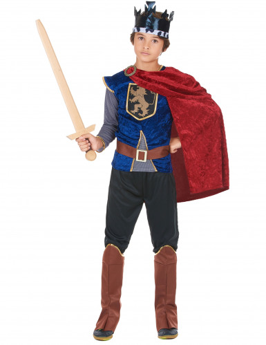 Mittelalterlicher König - Kostüm für Jungen