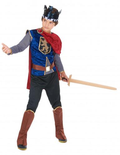 Mittelalterlicher König - Kostüm für Jungen-1