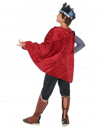Mittelalterlicher König - Kostüm für Jungen-2