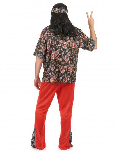 Buntes Hippie-Kostüm für Herren-2
