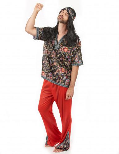 Buntes Hippie-Kostüm für Herren-1