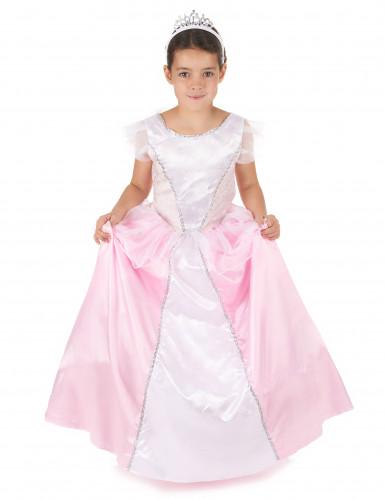 Rosa-weißes Prinzessinnen-Kostüm für Mädchen