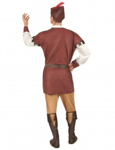 Mittelalterliches Waldmann-Kostüm für Herren-2
