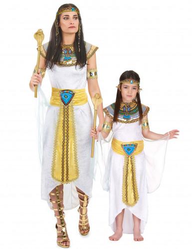 Königin von Ägypten-Paarkostüm Mutter und Tochter