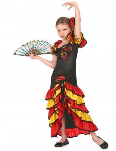 Flamencotänzerinnen-Paarkostüm für Mutter und Tochter-2