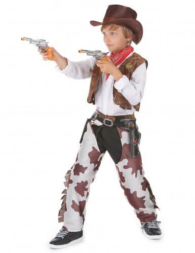 Cowboy-Paarkostüm für Vater und Sohn-2