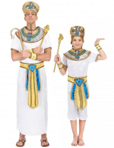 Pharaonen-Paarkostüm für Vater und Sohn
