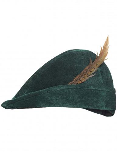 Grüner Wald-Hut für Erwachsene