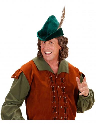 Grüner Wald-Hut für Erwachsene-2