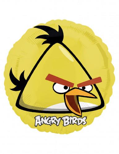 Gelber Angry Birds™ Aluballon