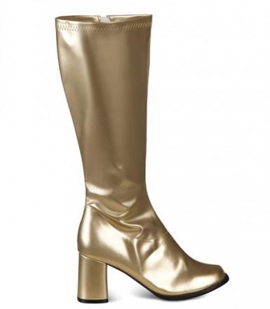 Vergoldete Stiefel für Damen