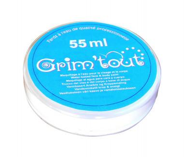 Weiße Gesichts- und Körperschminke von Grim'tout 55 ml
