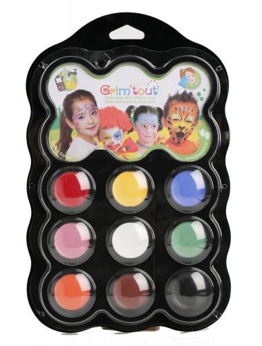 Grim'tout Faschings-Farbpalette 9 Farben