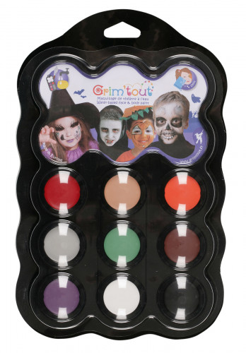 Grim'tout Halloween-Farbpalette 9 Farben