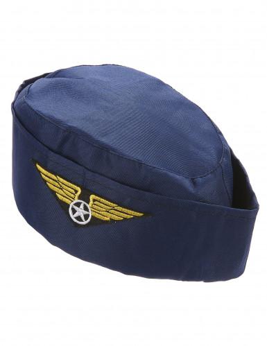 Stewardess-Haube für Damen