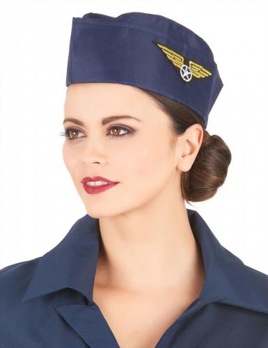 Stewardess-Haube für Damen-1