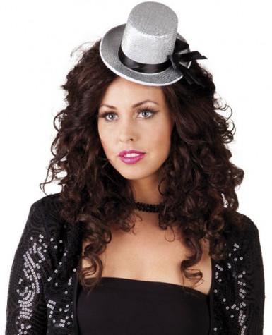 Grauer Mini-Hut für Damen
