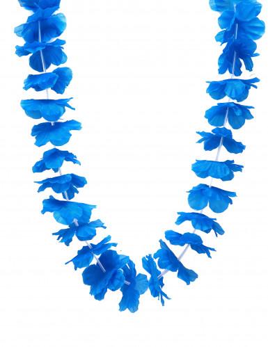 Blaue Hawaii Blumen-Kette