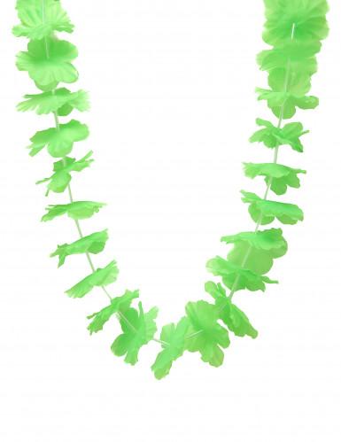 Grüne Hawaii Blumen-Kette