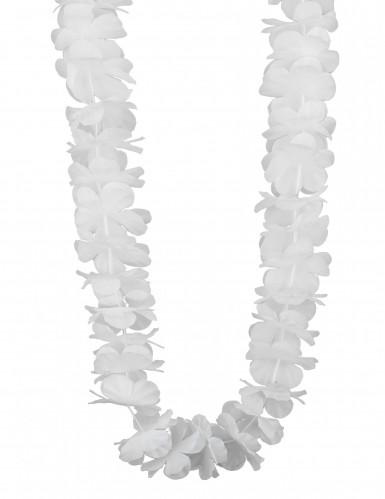 Weiße Hawaii Blumen-Kette