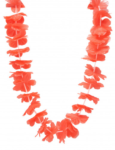 Rote Hawaii Blumen-Kette