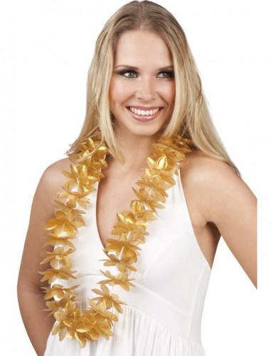 Goldene Blumen-Kette