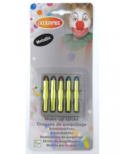 5 Glitzer Make-up-Stifte