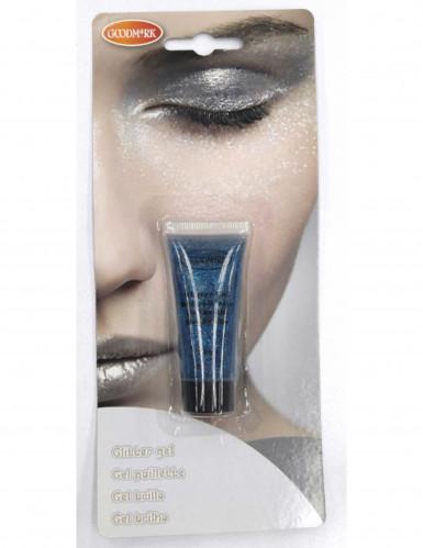 Blaues Glitzer-Gel 14ml
