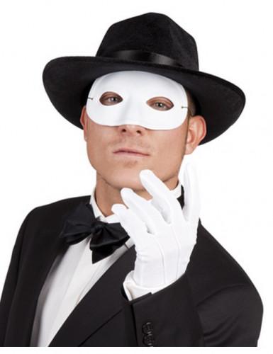 Augenmaske in Weiß für Erwachsene