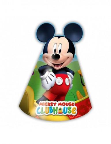 6 Micky Maus™ Partyhüte