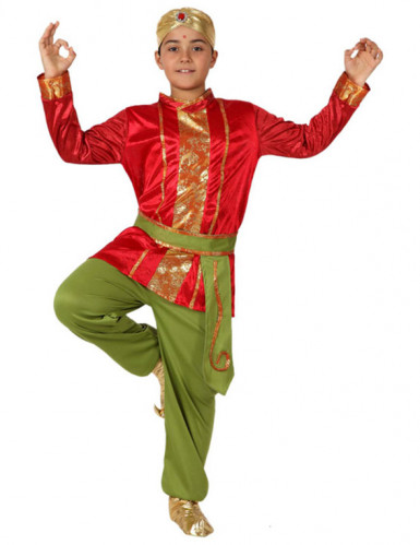 Kostüm indischer Junge