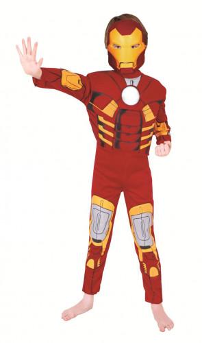Geniales Iron Man-Kostüm für Kinder 98/104 (3-4 Jahre) 4NLBE279