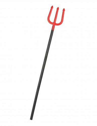 Rote Teufels-Gabel 110 cm
