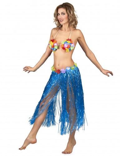Hawaiirock blau für Erwachsene-1