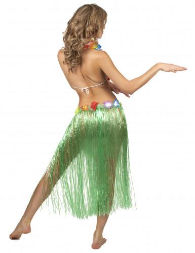 Grüner Hawaii-Rock für Erwachsene-2
