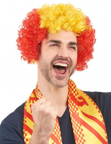 Spanien Fan-Perücke für Erwachsene