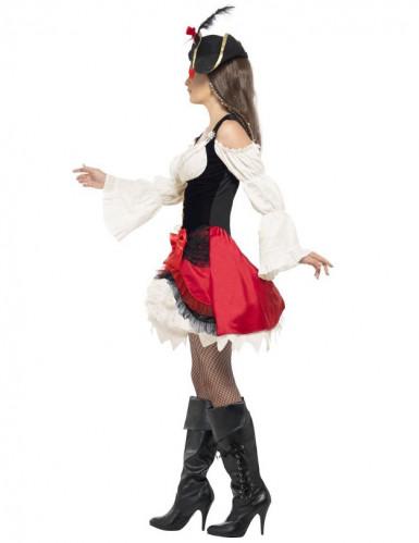 Edles Seeräuber-Kostüm für Damen-1