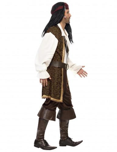 Braunes Piraten-Kostüm für Herren-1