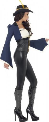 Piraten-Kapitän-Kostüm für Damen-1