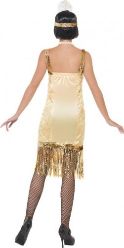 Goldenes Charleston-Kostüm für Damen-2